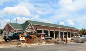 Store Front Construction for Christian Brothers Automotive